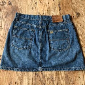Ralph Lauren denim jean skirt size 6